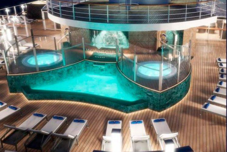 MSC Seaview Jacht Club-Bereich