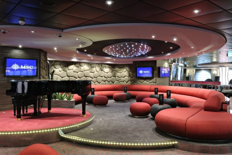 MSC Splendida Lounge