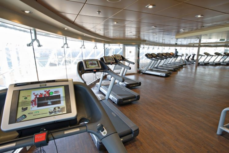 MSC Splendida Gym