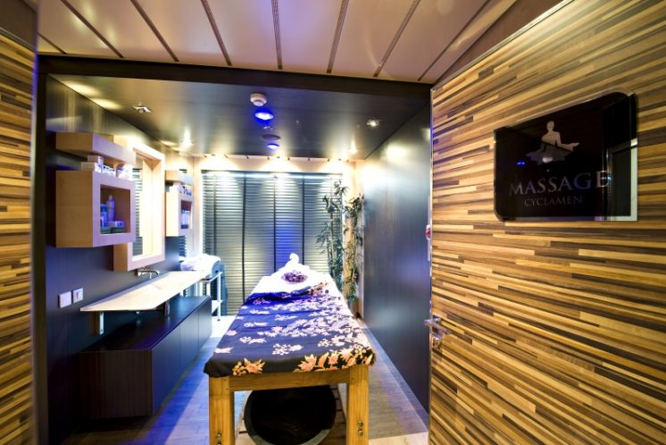 MSC Splendida Massage