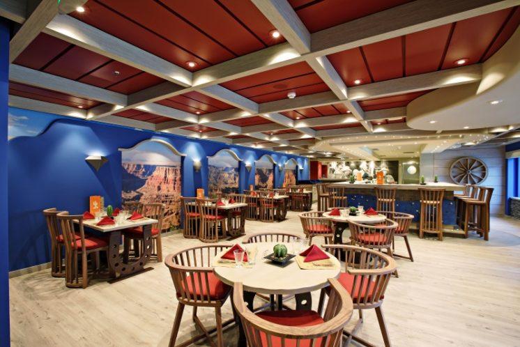 MSC Splendida Santa Fe Restaurant