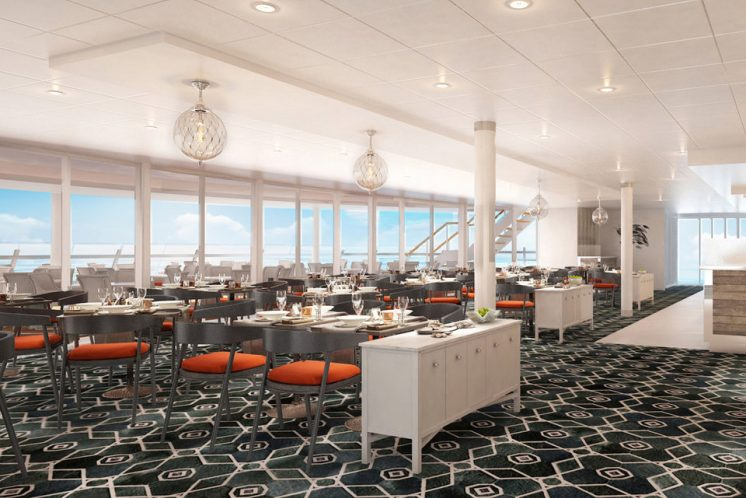 Neue Mein Schiff 1 Restaurant Fischmarkt