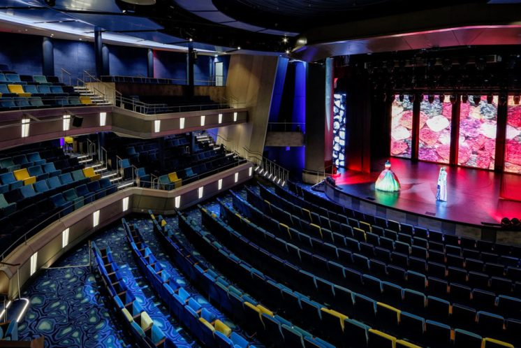 Neue Mein Schiff 1 Theater