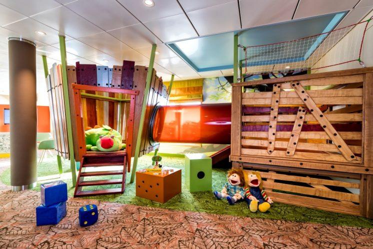 TUI Cruises Mein Schiff 2 Kinderbereich