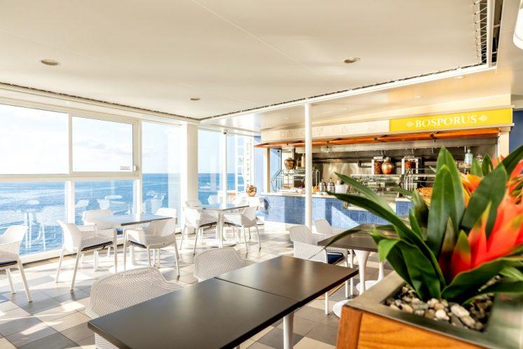 TUI Cruises Mein Schiff 2 Restaurant Bosporus
