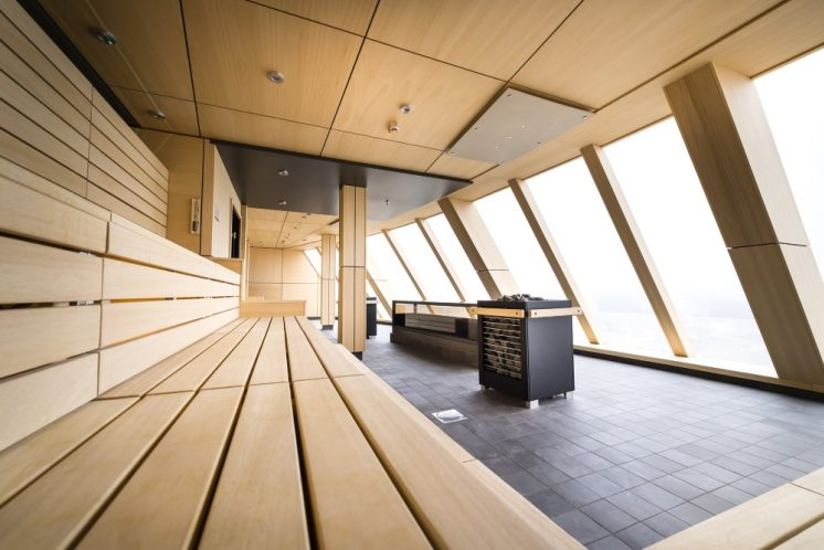 TUI Cruises Mein Schiff 2 Restaurant Sauna